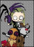 Lenore Cover +COLORED+ by Sally-skellington