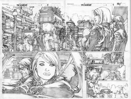 witchblade pg 8-9 by ebas