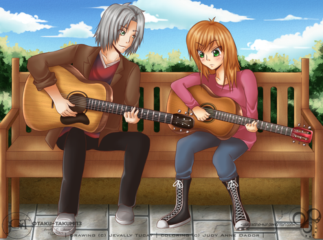 - collab: guitar tutoring - by windwalker035