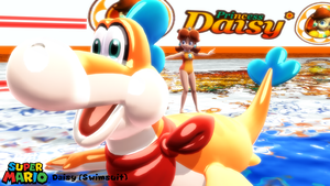 (MMD Model) Daisy (Swimsuit) Download by SAB64