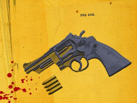 blood-gun-bullet-the end by eJDerha89