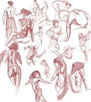 life Drawing practice by k04sk