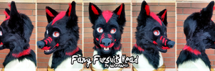 Fang Fursuit Head by WindWo1f