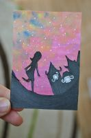 100. ACEO/KaKAO Coming Home by Unpassend
