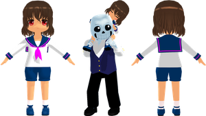 UT Mob Frisk (Lil Pup) by KittyNekkyo