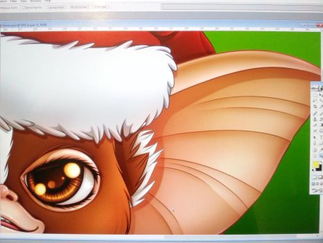 Christmas fan Art WIP by vanessasan
