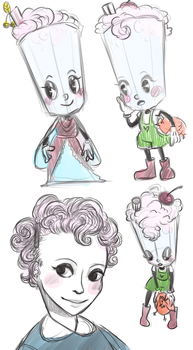 Cuphed OC Sketches by AnythingPrince