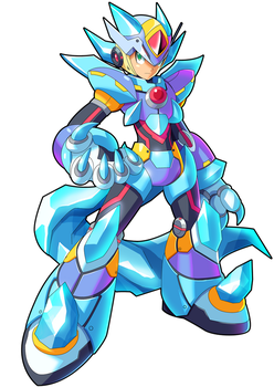 Commission: Blizzard Wolfang and X ver. KE Fusion by ultimatemaverickx