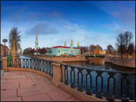 the Naval Cathedral of Saint Nicholas and Epiphany by Obssidiann