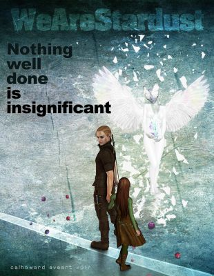 Nothing well done is insignificant by AVAdesign
