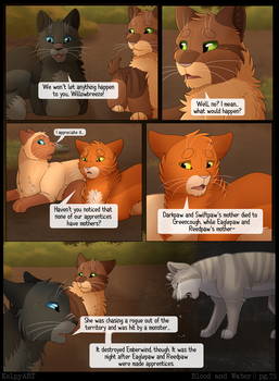 Warriors: Blood and Water - Page 73 by KelpyART