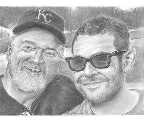 Ball field whiskered smiles by mozer1a0x