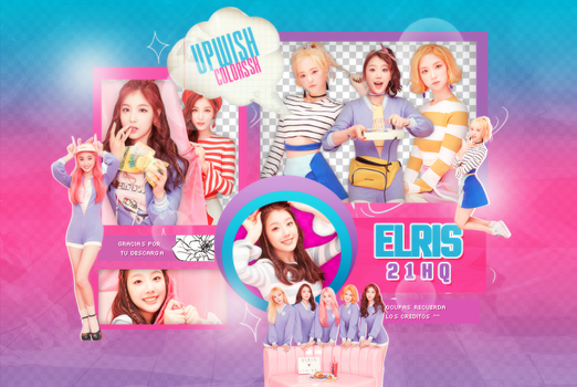 ELRIS PNG PACK #1 by UpWishColorssx
