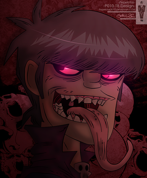 -Murdoc Niccals, Demon Days- by Pepelotas2010