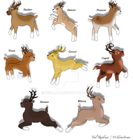 SURPISE XMAS PROJECT!!!! ~ Santa's Reindeer by renllaw