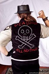 pirate vest by QuestionableKristina