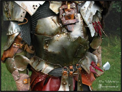 Orc Warboss Armor - Detail by farmerownia