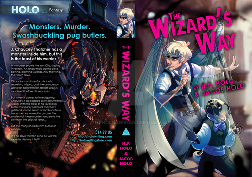 The Wizard's Way Book Cover by hpholo