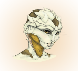 Drell girl by Megume