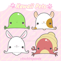 .:Kawaii Pets 2:. by PhantomCarnival