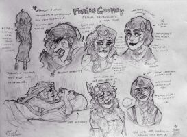 PN: Merian Expression Sheet Kinda by ContradictingCats