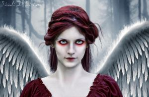 red angel by Sivali-Delirium