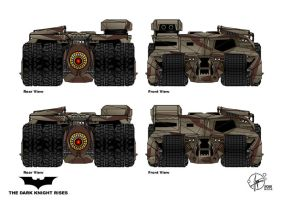 modified Tumbler front camouflage by Paul-Muad-Dib