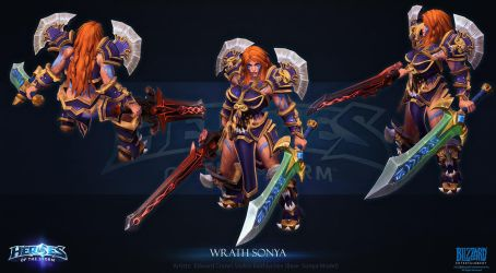 Wrath Sonya by Azetlor