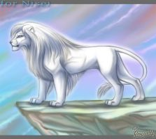 For white lion by OmegaLioness