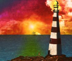 Lighthouse by MariChan27