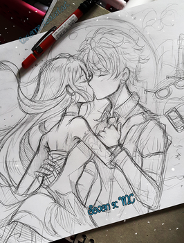 +Mystic Messenger WIP- Marry Me+ by larienne