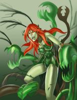 10$commish poison ivy by haribon