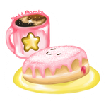 Kirby Jelly Donut by ShadedPenumbra