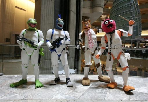 Muppet Troopers DragonCon 2013 by thesuper