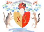 Clo's Coat of Arms - Meme pas peur des dragons by mari6s