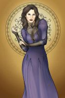Widow of the Blackwood by CatAstropheBoxes