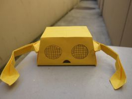 Origami Boxbot 3.0 by 50an6xy06r6n