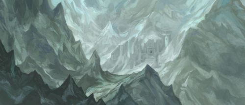 The Grey Mountains by JonHodgson