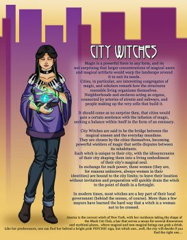 City Witches by JesIdres