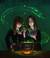Pottermore by Unknowncake