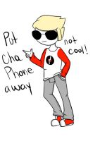 Put Cha Phone Away by NickTheWitch