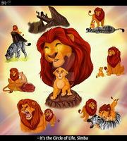 It`s the Circle of Life, Simba| Mufasa`s dream by VlalizaVladaRose