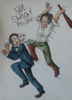 Mahler and Beethoven by Livi-Livered