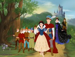 Snow White and the Seven Dwarfs by musicmermaid