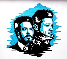 Clint and Tony 5 by weedenstein