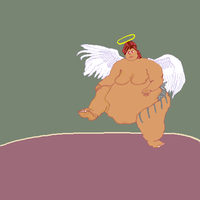 Fat Angel Sumo by Azel4