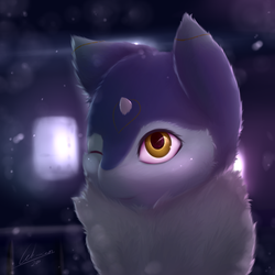 Mika in the Snow by Lekisceon