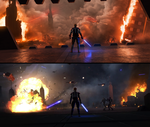 Siege Of Mandalore (Original vs Re-imagining) by thetechromancer