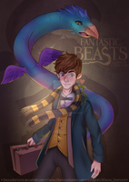 Fantastic Beasts - Fanart by DeoxyDiamond