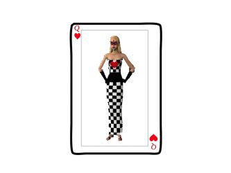 Sims 2 Queen of Heart by angelestes